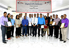 Digital LPG Delivery Project Launch